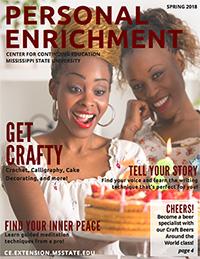 Continuing Education Personal Enrichment Catalog Graphic