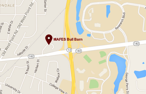 MAFES Bullbarn Map